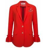 Wanderlust Jacket cherry scarlett rood