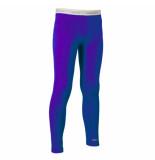 Icebreaker Mystic paars/blauwe legging junior bodyfit 200 van merino wol
