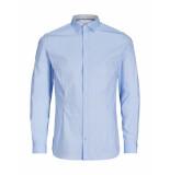 Jack & Jones Overhemd magnum shirt slim blue blauw