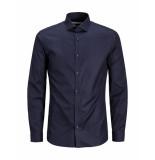 Jack & Jones Overhemd andrew dark navy blauw