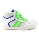 Kanjers Spce51. hoge sneaker wit