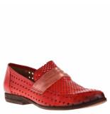 Maison Voltaire Dames moccasins rood
