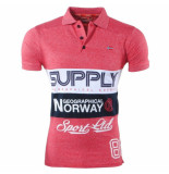 Geographical Norway Heren polo supply karchie rood