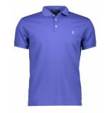 Ralph Lauren Polo short sleeve knit liberty blue blauw