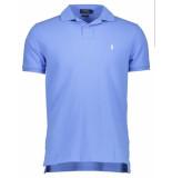 Ralph Lauren Polo short sleeve knit harbor island blue blauw