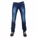Montenelli Heren jeans 5024 blauw