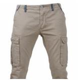 Biaggio Jeans Trendy heren worker lengte 34 tigom beige