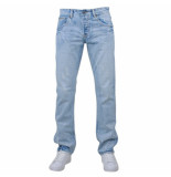 Rivaldi Trendy heren jeans carlin damaged look licht blauw