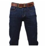 Cobbelti Heren jeans met gratis riem stretch lengte 36 denim blauw
