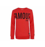 Retour Sweater crewneck gino red rood