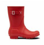 Hunter Regenlaars original wellington short military red rood