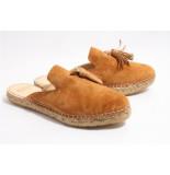 Fred de la Bretoniëre 152010046 slippers cognac