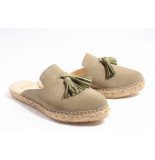 Fred de la Bretoniëre 152010046 slippers taupe