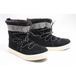 TOMS 10010903 alpine black boots plat zwart