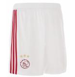 Adidas Ajax home short sr 18/19 038372 wit