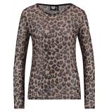 Catwalk Junkie ls leopard love zwart