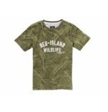 Jake Fischer Shirt korte mouw nam leger groen