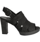 Paul Green hak sandalen zwart