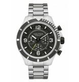 Nautica Horloge zilver