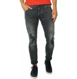 Pepe Jeans Spike grey used & destroy -w28 denim