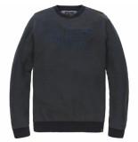 PME Legend Pkw185308 6447 r-neck cotton jaquard kalamata blauw