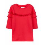 Name It Nbfnelisa sew dress bru rood