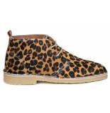 DWRS leopard veterschoen cognac