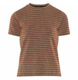 Sisters Point Shirtje step stripes oranje