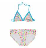 Just Beach Multi color dots meisjes bikini paris