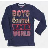 Boys in Control 300 marine shirt blauw
