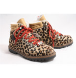 Ammann 8084 leopard boots plat bruin