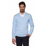 Dutch Dandies Pullover v-hals blauw