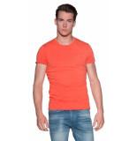Scotch & Soda T-shirt met korte mouwen oranje