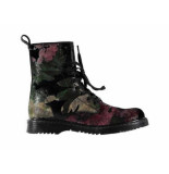 Studio Maison Biker boot velvet flower multi