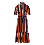 Sisters Point Maxi jurk niva navy/stone oranje