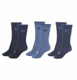 Pierre Cardin 6-pack sokken blauw