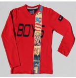 Boys in Control 302a rood shirt blauw