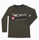 Boys in Control 501 khaky shirt