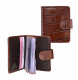 dR Amsterdam Creditcard-etui Bruin One size