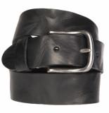 Cowboysbelt Casual riem zwart