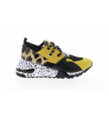 Steve Madden Cliff yellow multi 713 geel