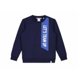Nik & Nik Sweater team up donker blauw