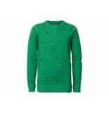 Petrol Industries Sweater crewneck aop groen