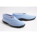 Plumex 2250 gebreide schoenen licht blauw