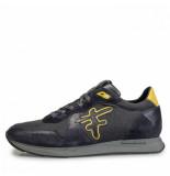 Floris van Bommel Artikelnummer 16226/01 sneaker grijs met gel accenten