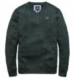 Vanguard Vkw187134 6027 v-neck cotton twisted darkest spruce groen