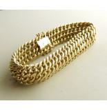 Christian Fobe gouden armband geel goud