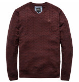 Vanguard Vkw187134 8204 v-neck cotton twisted decadent chocolate bruin
