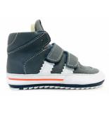 Shoesme Veterschoenen baby proof flex blauw