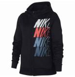 Nike G nk therma hoodie fz gx 940348-010 zwart